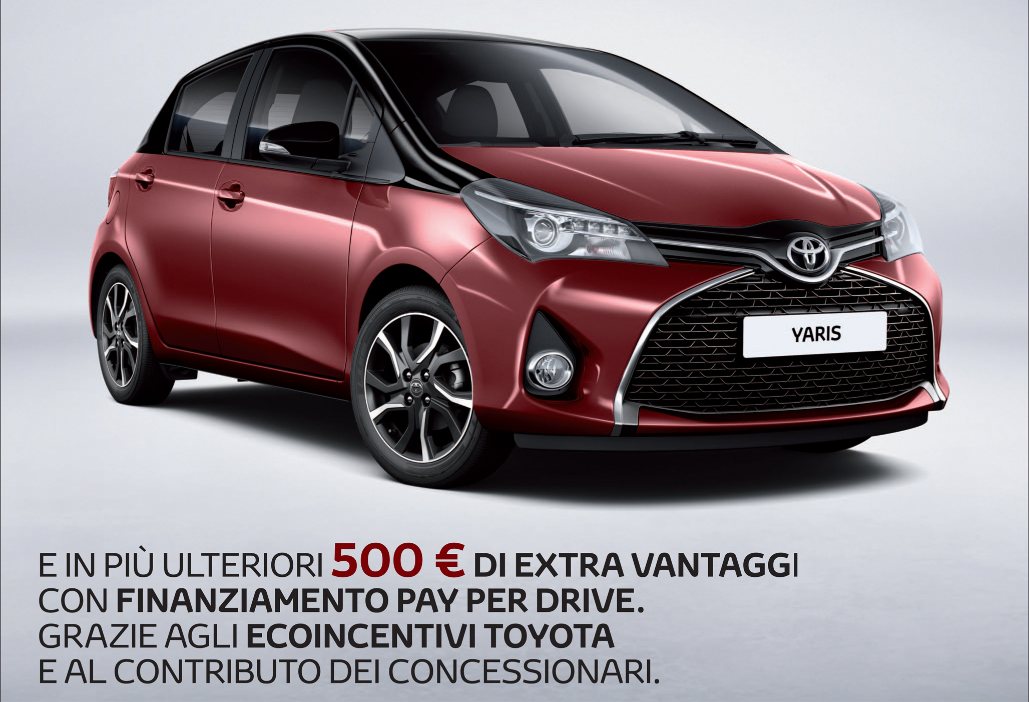 offerta toyota yaris per il mese di marzo auto royal company. Black Bedroom Furniture Sets. Home Design Ideas